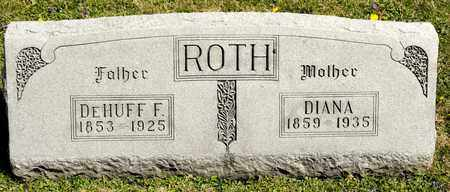 ROTH, DEHUFF F - Richland County, Ohio | DEHUFF F ROTH - Ohio Gravestone Photos
