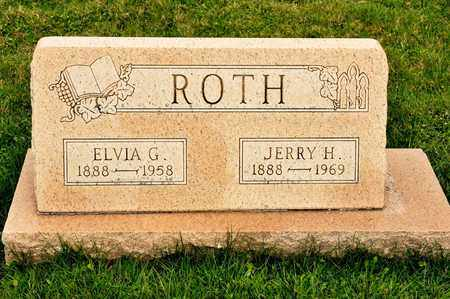 ROTH, ELVIA G - Richland County, Ohio | ELVIA G ROTH - Ohio Gravestone Photos