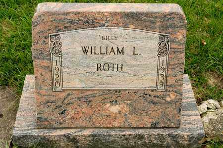 ROTH, WILLIAM L - Richland County, Ohio | WILLIAM L ROTH - Ohio Gravestone Photos