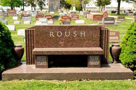 ROUSH, INF DAUGHTER - Richland County, Ohio | INF DAUGHTER ROUSH - Ohio Gravestone Photos
