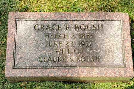 ROUSH, GRACE E - Richland County, Ohio | GRACE E ROUSH - Ohio Gravestone Photos
