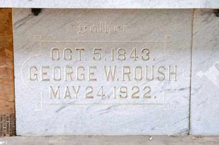 ROUSH, GEORGE W - Richland County, Ohio | GEORGE W ROUSH - Ohio Gravestone Photos