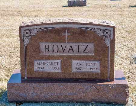 ROVATZ, MARGARET - Richland County, Ohio | MARGARET ROVATZ - Ohio Gravestone Photos