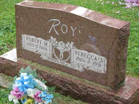 ROY, ROBERT M. - Richland County, Ohio | ROBERT M. ROY - Ohio Gravestone Photos