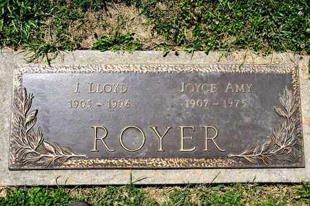 ROYER, J LLOYD - Richland County, Ohio | J LLOYD ROYER - Ohio Gravestone Photos