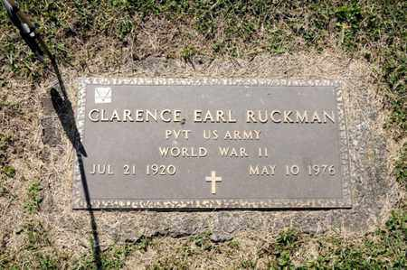 RUCKMAN, CLARENCE EARL - Richland County, Ohio | CLARENCE EARL RUCKMAN - Ohio Gravestone Photos