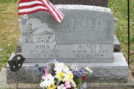 RUDD, AGNES L - Richland County, Ohio | AGNES L RUDD - Ohio Gravestone Photos