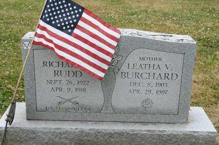 BURCHARD, LEATHA V - Richland County, Ohio | LEATHA V BURCHARD - Ohio Gravestone Photos