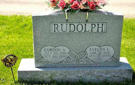 RUDOLPH, GORDON A - Richland County, Ohio | GORDON A RUDOLPH - Ohio Gravestone Photos