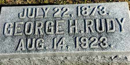 RUDY, GEORGE H - Richland County, Ohio | GEORGE H RUDY - Ohio Gravestone Photos