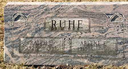 RUHE, RALPH H - Richland County, Ohio | RALPH H RUHE - Ohio Gravestone Photos