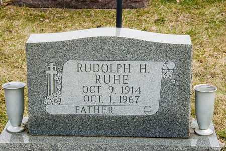 RUHE, RUDOLPH H - Richland County, Ohio | RUDOLPH H RUHE - Ohio Gravestone Photos
