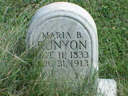 RUNYON, MARIA B. - Richland County, Ohio | MARIA B. RUNYON - Ohio Gravestone Photos