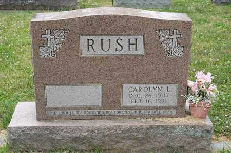 RUSH, CAROLYN L - Richland County, Ohio | CAROLYN L RUSH - Ohio Gravestone Photos