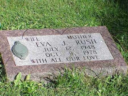 RUSH, EVA J. - Richland County, Ohio | EVA J. RUSH - Ohio Gravestone Photos