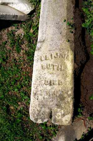 RUTH, ELIJAH - Richland County, Ohio | ELIJAH RUTH - Ohio Gravestone Photos