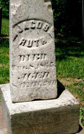 RUTH, JACOB - Richland County, Ohio | JACOB RUTH - Ohio Gravestone Photos