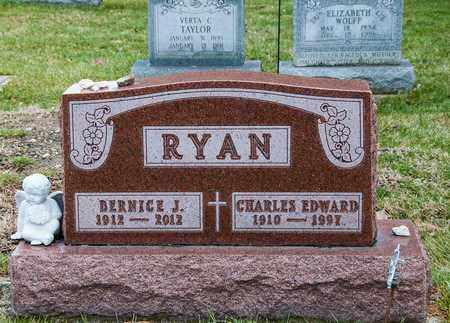 RYAN, CHARLES EDWARD - Richland County, Ohio | CHARLES EDWARD RYAN - Ohio Gravestone Photos