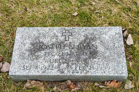 RYAN, JOSEPH A - Richland County, Ohio | JOSEPH A RYAN - Ohio Gravestone Photos