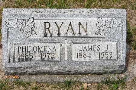 RYAN, PHILOMENA - Richland County, Ohio | PHILOMENA RYAN - Ohio Gravestone Photos