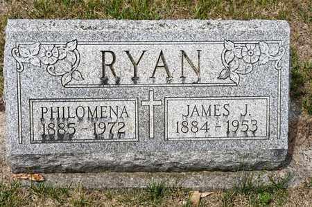 RYAN, JAMES J - Richland County, Ohio | JAMES J RYAN - Ohio Gravestone Photos