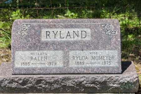 RYLAND, RYLDA - Richland County, Ohio | RYLDA RYLAND - Ohio Gravestone Photos