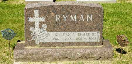 RYMAN, ELMER E - Richland County, Ohio | ELMER E RYMAN - Ohio Gravestone Photos