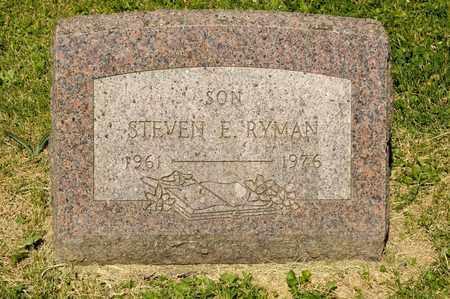 RYMAN, STEVEN E - Richland County, Ohio | STEVEN E RYMAN - Ohio Gravestone Photos