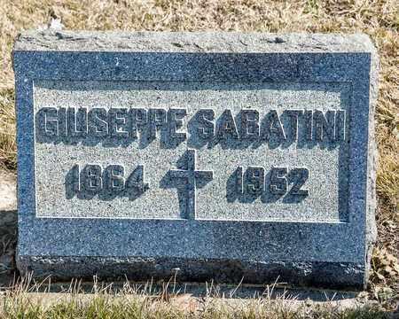 SABATINI, GIUSEPPE - Richland County, Ohio | GIUSEPPE SABATINI - Ohio Gravestone Photos