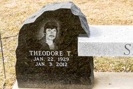 SAGLE, THEODORE T - Richland County, Ohio | THEODORE T SAGLE - Ohio Gravestone Photos