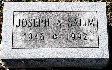 SALIM, JOSEPH A - Richland County, Ohio | JOSEPH A SALIM - Ohio Gravestone Photos