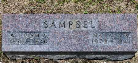 SAMPSEL, MAHALA R - Richland County, Ohio | MAHALA R SAMPSEL - Ohio Gravestone Photos