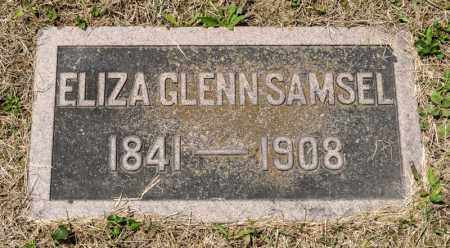 GLENN SAMSEL, ELIZA - Richland County, Ohio | ELIZA GLENN SAMSEL - Ohio Gravestone Photos