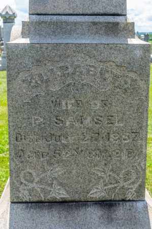 SAMSEL, ELIZABETH - Richland County, Ohio | ELIZABETH SAMSEL - Ohio Gravestone Photos