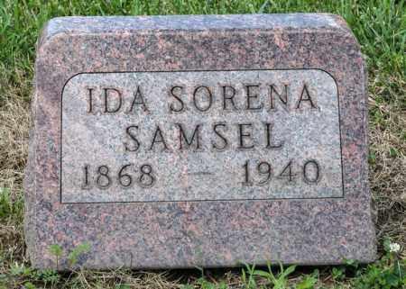 SAMSEL, IDA SORENA - Richland County, Ohio | IDA SORENA SAMSEL - Ohio Gravestone Photos