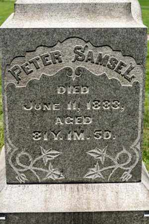 SAMSEL, PETER - Richland County, Ohio | PETER SAMSEL - Ohio Gravestone Photos