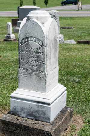 SAMSEL, SARAH J - Richland County, Ohio | SARAH J SAMSEL - Ohio Gravestone Photos