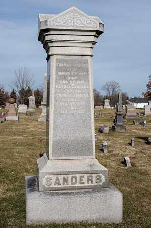 SANDERS, THOMAS - Richland County, Ohio | THOMAS SANDERS - Ohio Gravestone Photos