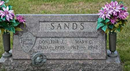 SANDS, MARY C - Richland County, Ohio | MARY C SANDS - Ohio Gravestone Photos