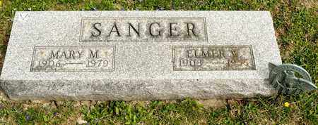 SANGER, ELMER W - Richland County, Ohio | ELMER W SANGER - Ohio Gravestone Photos