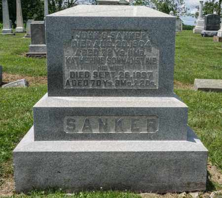 SANKER, KATHERINE - Richland County, Ohio | KATHERINE SANKER - Ohio Gravestone Photos