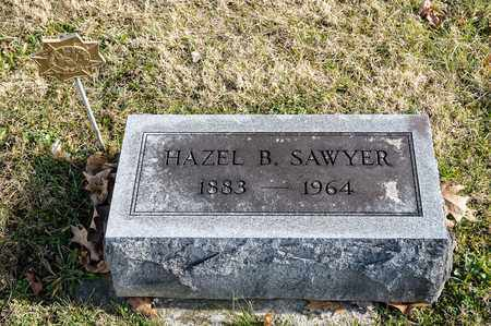 SAWYER, HAZEL B - Richland County, Ohio | HAZEL B SAWYER - Ohio Gravestone Photos