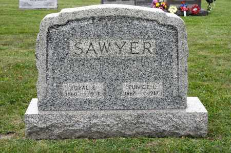 SAWYER, ROYAL E - Richland County, Ohio | ROYAL E SAWYER - Ohio Gravestone Photos