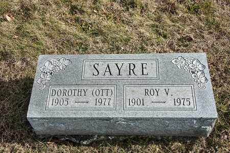 SAYRE, ROY V - Richland County, Ohio | ROY V SAYRE - Ohio Gravestone Photos