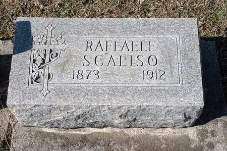 SCALISO, RAFFAELE - Richland County, Ohio | RAFFAELE SCALISO - Ohio Gravestone Photos
