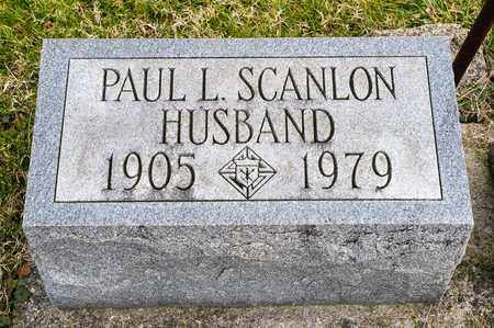 SCANLON, PAUL L - Richland County, Ohio | PAUL L SCANLON - Ohio Gravestone Photos