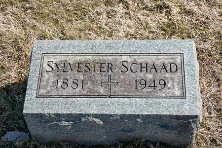 SCHAAD, SYLVESTER - Richland County, Ohio | SYLVESTER SCHAAD - Ohio Gravestone Photos