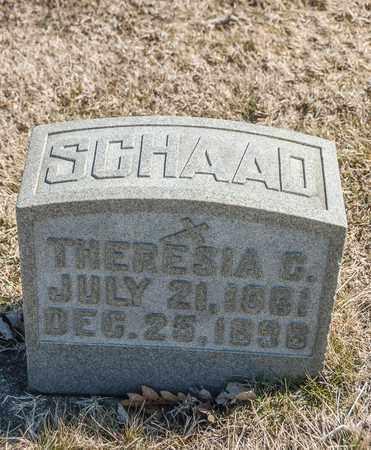 SCHAAD, THERESIA C - Richland County, Ohio | THERESIA C SCHAAD - Ohio Gravestone Photos