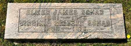 SCHAD, ELMER JAMES - Richland County, Ohio | ELMER JAMES SCHAD - Ohio Gravestone Photos