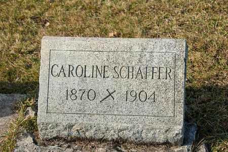 SCHAFFER, CAROLINE - Richland County, Ohio | CAROLINE SCHAFFER - Ohio Gravestone Photos